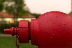 Primer de una boca de incendios Fotos de archivo libres de regalías