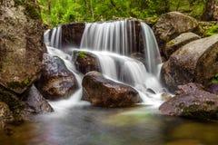 Primer de una cascada Fotografía de archivo
