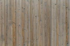 Primer de una pared de madera resistida Fotografía de archivo