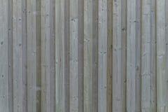 Primer de una pared de madera resistida Imagen de archivo