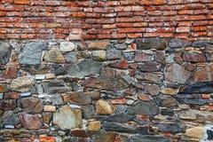 Primer de una pared de piedra en el del Sacramento, Uruguay de Colonia fotografía de archivo libre de regalías