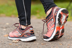 Primer de zapatos Imagen de archivo libre de regalías