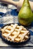 Primer del ââwith hecho agrio peras frescas Foto de archivo