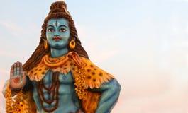 Primer del ídolo hindú de Shiva de dios en evento del ustav del deepam del karthika Fotografía de archivo