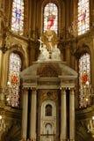 Primer del altar de la catedral en Le?n, Guanajuato Visi?n vertical imágenes de archivo libres de regalías