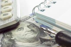 Primer del análisis del mercado de acción de la contabilidad financiera Fotografía de archivo libre de regalías
