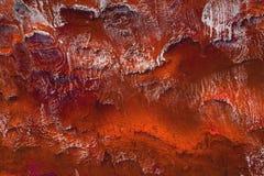 Primer del artefacto de piedra tallado del color rojo textura exclusiva Talla concreta Trabajo manual imagen de archivo libre de regalías