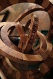 Primer del astrolabio Fotos de archivo libres de regalías