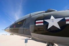 Primer del avión de combate del vintage Fotos de archivo libres de regalías