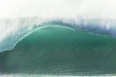 Primer del azul de la onda Fotografía de archivo
