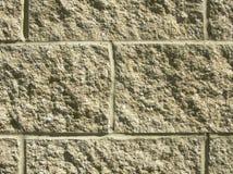 Primer del bloque de cemento fotografía de archivo
