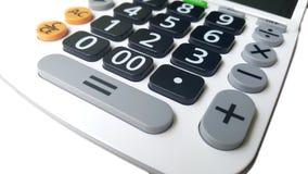 Primer del botón de la calculadora Foto de archivo libre de regalías