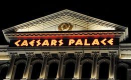 Primer del Caesars Palace Fotografía de archivo libre de regalías