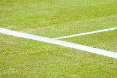 Primer del campo de tenis Fotografía de archivo