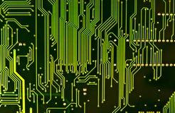 Primer del chip de ordenador Imagen de archivo libre de regalías