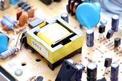 Primer del circuito electrónico Fotos de archivo libres de regalías