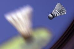Primer del collage del bádminton Imagenes de archivo