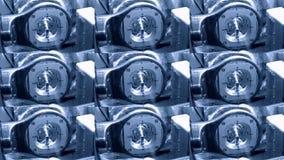 Primer del contrafuerte que muele almacen de metraje de vídeo