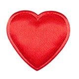 Primer del corazón de la tarjeta del día de San Valentín Imágenes de archivo libres de regalías