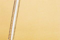 Primer del cuaderno Fotos de archivo libres de regalías