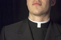 Primer del cuello del sacerdote Fotos de archivo