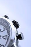Primer del detalle del reloj de la mano Fotos de archivo libres de regalías