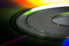 Primer del disco compacto Fotos de archivo libres de regalías