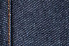 Primer del dril de algodón Foto de archivo libre de regalías