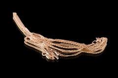Primer del encadenamiento de oro y del escorpión Imagen de archivo