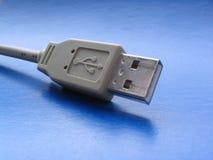 Primer del enchufe del USB Fotos de archivo