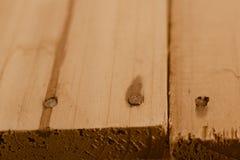 Primer del fondo de madera de la sobremesa imagenes de archivo
