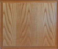 Primer del fondo de madera textured con el marco Imagenes de archivo