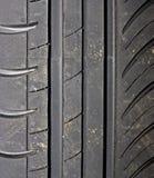Primer del fondo del neumático de coche Fotografía de archivo libre de regalías