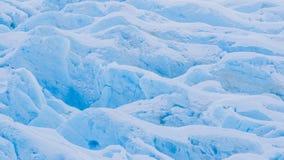 Primer del glaciar Imágenes de archivo libres de regalías