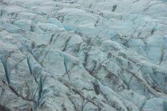 Primer del glaciar Fotografía de archivo libre de regalías