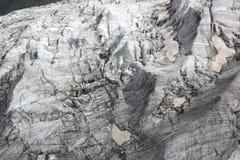Primer del glaciar de la tarifa Foto de archivo