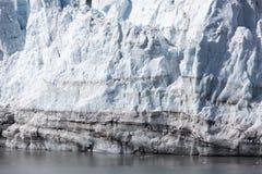 Primer del glaciar del ` s de Alaska Fotografía de archivo