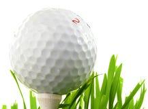 Primer del golf Foto de archivo libre de regalías