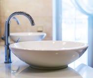 Primer del grifo del abastecimiento de agua Fotografía de archivo libre de regalías