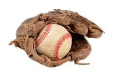 Primer del guante de béisbol Imágenes de archivo libres de regalías