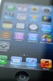 Primer del iPhone 5 imagenes de archivo