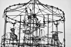 Primer del juguete del alambre Foto de archivo libre de regalías