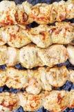 Primer del kebab. Fotos de archivo
