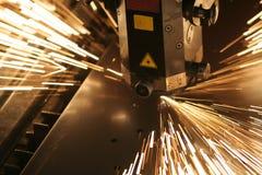 Primer del laser Imagen de archivo libre de regalías