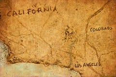 Mapa viejo Imágenes de archivo libres de regalías