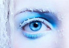 Primer del maquillaje de la fantasía Fotografía de archivo libre de regalías