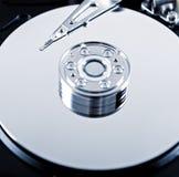 Primer del mecanismo impulsor de disco duro Fotos de archivo