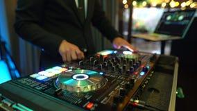 Primer del mezclador de DJ metrajes