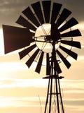 Primer del molino de viento Imagen de archivo libre de regalías