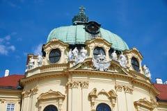 Primer del monasterio de Klosterneuburg, Viena foto de archivo
